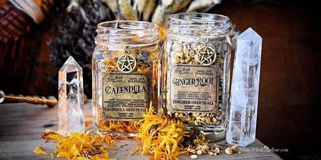 Magickal herbs, soaps, bath teas, salts, oils & incense tickets