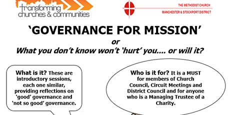 Governance Training for Methodist Trustees tickets
