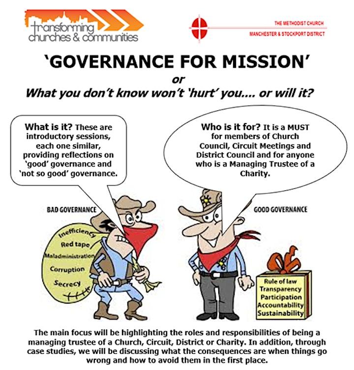 Governance Training for Methodist Trustees image