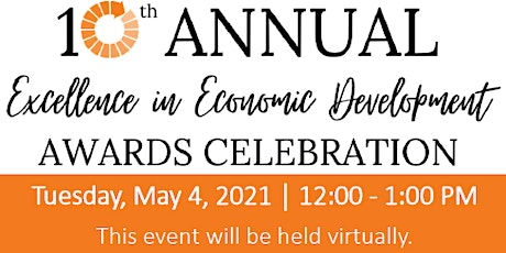 10th Annual Excellence in Economic Development Awards Celebration tickets