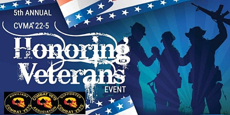 5TH ANNUAL HONORING VETERANS EVENT  JUNE 5 2021 tickets