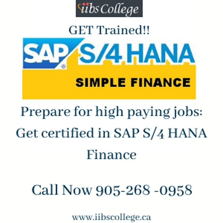 We are starting SAP S/4 HANA FI certificate training!!! image