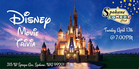 Disney Movie Trivia at Spokane Comedy Club tickets