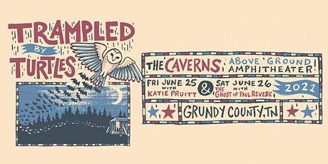 Trampled By Turtles at The Caverns Above Ground Amphitheater tickets