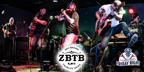 Putnam Night BBQ Series with ZBTB - Zac Brown Tribute Band! tickets