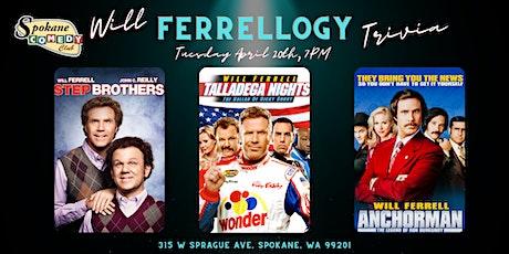 Will Ferrellogy Trivia at Spokane Comedy Club tickets