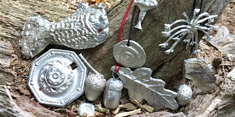 Pewter Casting in The Woods - Full Day using Cuttlefish & Delft clay. tickets