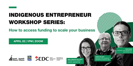 Indigenous Entrepreneurs: How to access funding to scale your business tickets