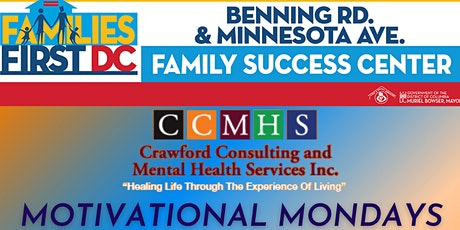 Minnesota Ave/Benning Rd. FSC - Therapy & Wellness Sessions via Zoom tickets