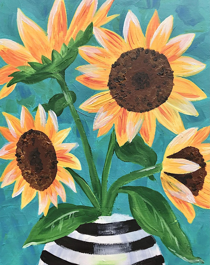 Easely Does It -Impasto Sunflowers- with Toni +14 day recording image