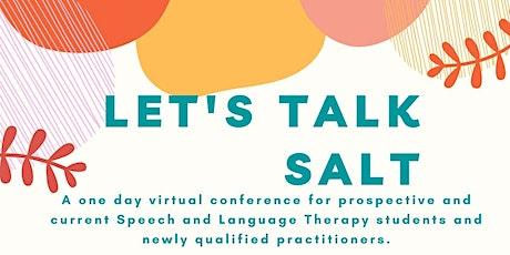 Let's Talk SALT tickets