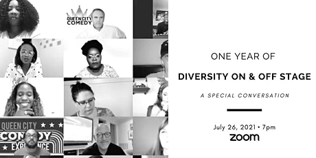 Special Conversation: One Year of Diversity On & Off Stage tickets