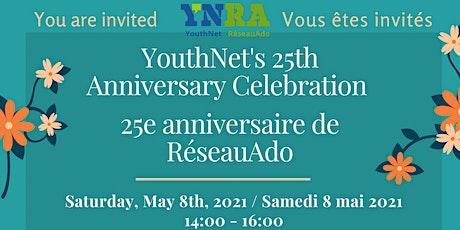 YNRA's 25th Anniversary / 25e Anniversaire tickets