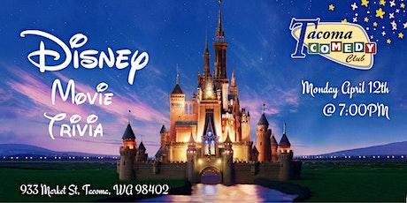 Disney Movie Trivia at Tacoma Comedy Club tickets