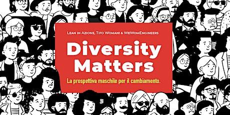 Diversity Matters 3/5 con Edgardo Maria Iozia biglietti