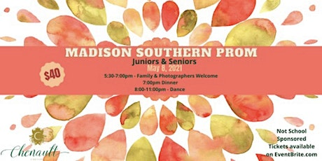 Madison Southern Junior and Senior Dinner & Dance tickets