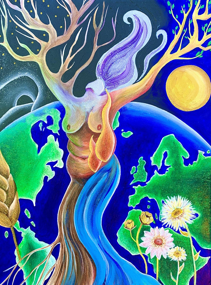 Rooted Spirit: Online Short Course with Priestess Rachel Harris image