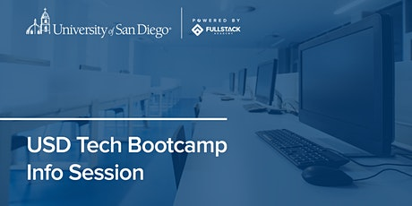 Online Info Session | USD Tech Bootcamps tickets
