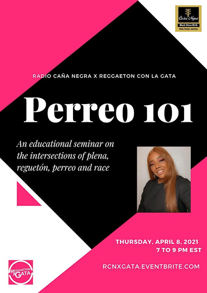 Radio Caña Negra presents Perreo 101 with La Gata image