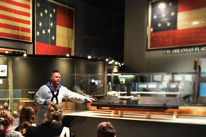 Homeschool Saturday at the National Civil War Naval Museum image