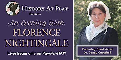 Pay-Per-HAP: An Evening with Florence Nightingale Tickets