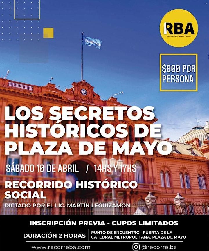 Imagen de Plaza de Mayo, sus secretos históricos-PRESENCIAL-FECHA A CONFIRMAR