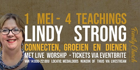 Conferentie 1 mei - Lindy Strong tickets