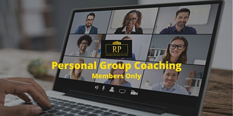 RPI Member  Personal Group Coaching (Group) tickets