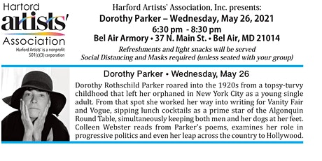 Living History Performance: Dorothy Parker tickets
