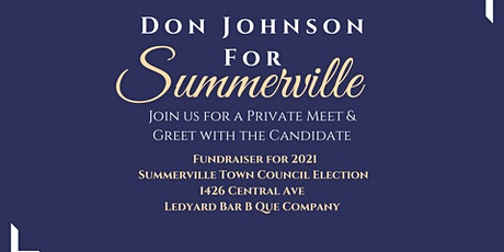 Private Dinner Party Fundraiser: Don Johnson for Summerville tickets