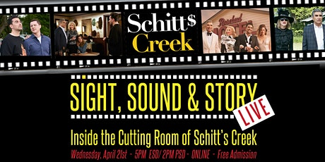 Sight, Sound & Story Live - Ep 9: Inside the Cutting Room of Schitt's Creek tickets
