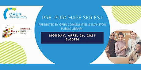 Pre- purchase Workshop Series I (Presented by OC & Evanston Public Lib.) tickets