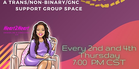 Trans/Non-Binary/GNC Support Group tickets