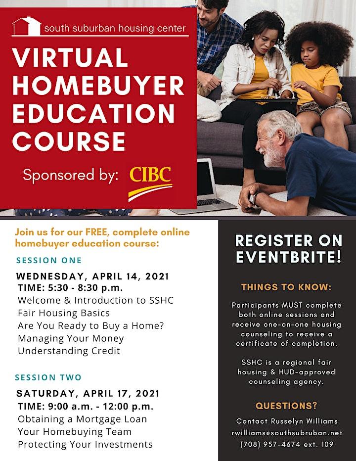 April Virtual Homebuyer Education Course image