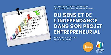 Les 7 étapes à passer pour réussir son projet entrepreneurial billets