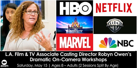 L.A. Film & TV Associate Casting Dir. Robyn Owen's On-Camera Workshops tickets