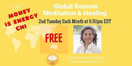 Global  Remote Healing - Money is  Energy tickets