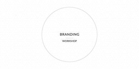 Branding Workshop tickets