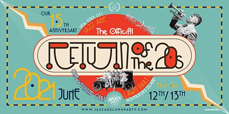 Jazz Age Lawn Party tickets