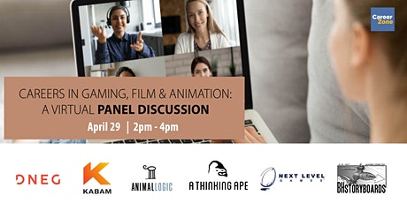 Careers in Gaming, Film & Animation: A Virtual Panel Discussion tickets