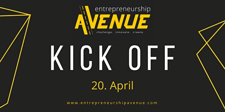 Entrepreneurship Avenue 2021 - Kickoff Tickets