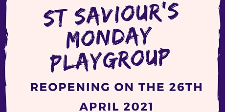 St Saviour's Monday Playgroup tickets