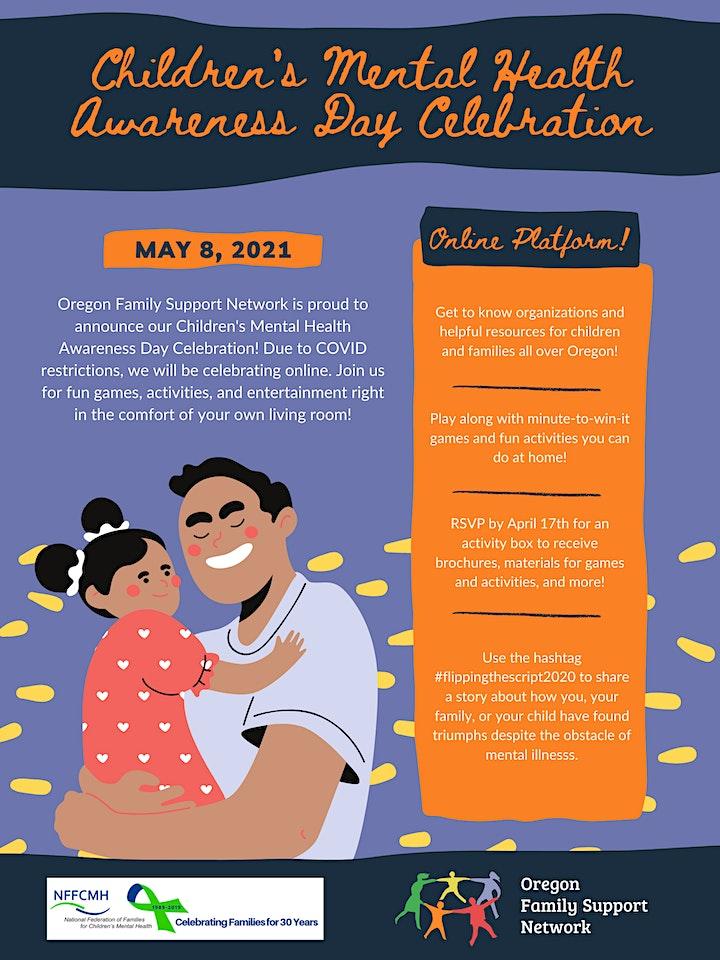 Children's Mental Health Awareness Day Celebration image