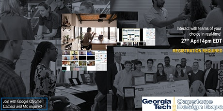 Spring 2021 Georgia Tech Capstone Design Virtual E tickets