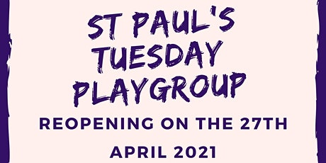 St Paul's Tuesday Playgroup tickets
