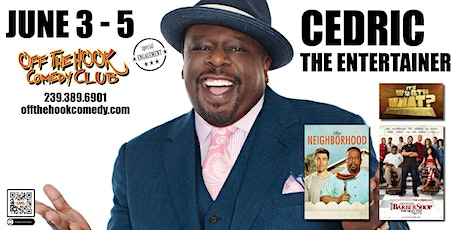 Comedian Cedric The Entertainer Live in Naples, FL tickets