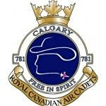 "781 ""Calgary"" Royal Canadian Air Cadet Squadron logo"