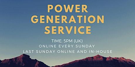 Power Generation Service tickets