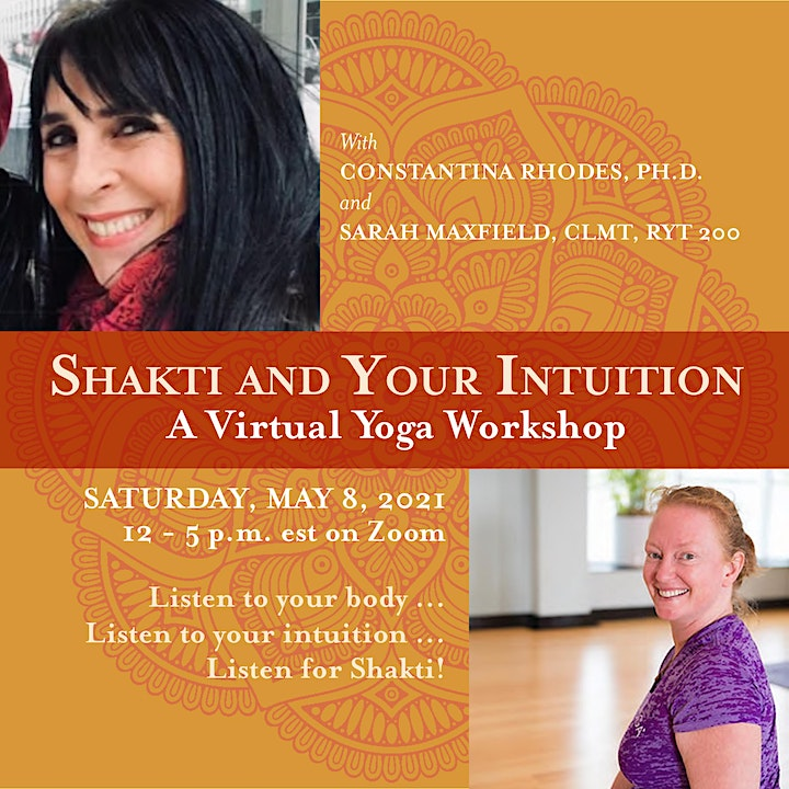 Shakti and Your Intuition -- A Virtual Yoga Workshop image