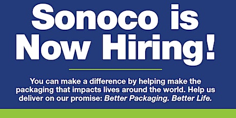 Sonoco Virtual Job Fair tickets